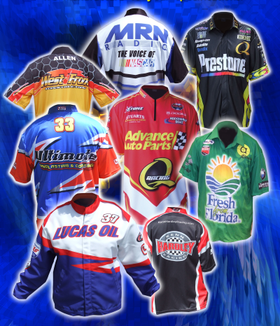 Team Sublimated Pit Shirts, Trade Show Apparel, Custom Clothing